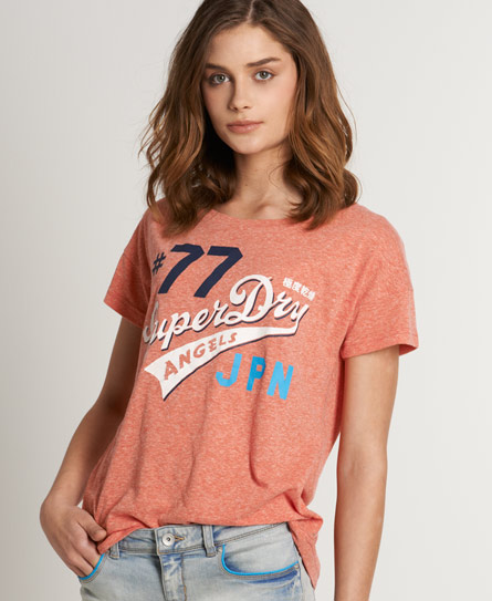 Superdry Oversized Tee Red