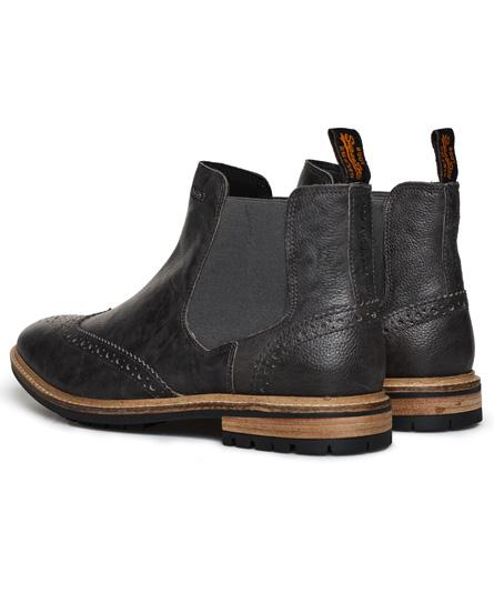 Superdry Brad Brogue Pemium Chelsea Boots