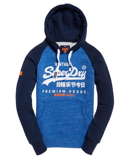 Superdry Premium Goods Raglan-Hoodie