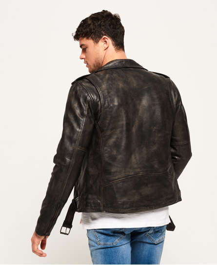 Superdry SD Endurance Custom Leather Jacket