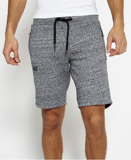 flint grey grit Superdry Orange Label Urban Jogger Shorts