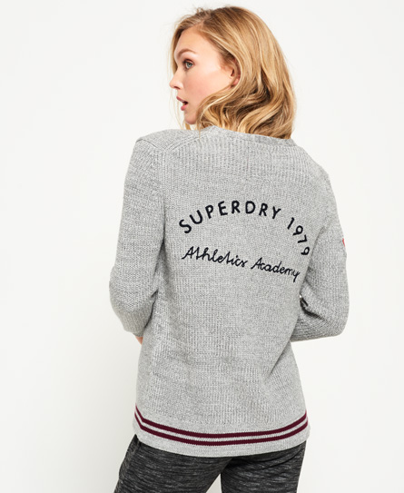 Superdry Ivy Patched Cardigan