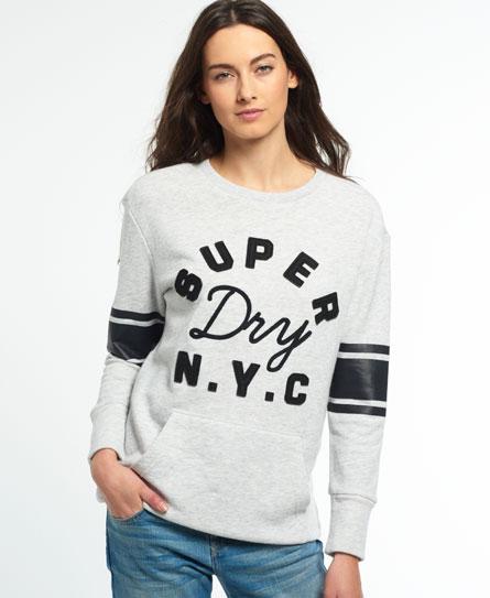 Superdry Superdry Applique Pocket Crew bluse