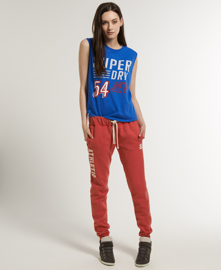 Superdry 23 JPN Offset Joggers Red