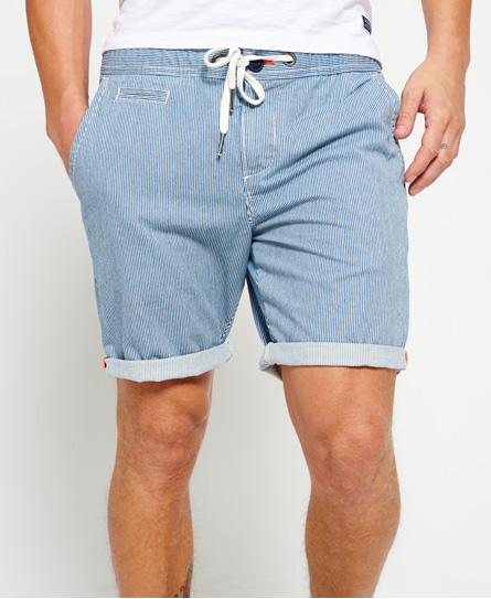 Superdry International Sun Scorched Chino Shorts Blue