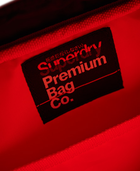 Superdry Perforated Kayem Messenger Bag