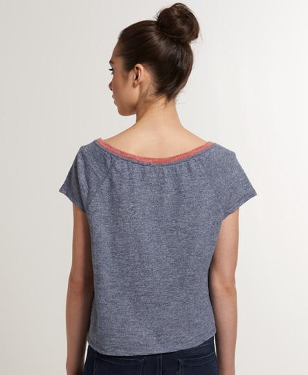 Superdry Ringer Cropped T-shirt