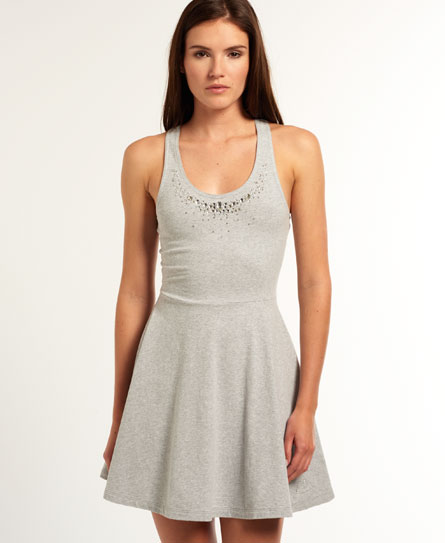 Superdry Jewel Rydell Dress Grey