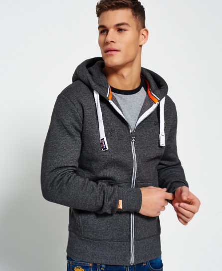 Mens Orange Label Ziphood Sports Hoodie Superdry Discount Many Kinds Of aMpNbQbte