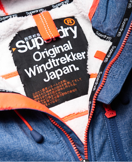 Superdry Chaqueta con capucha y pelo sherpa SD-Windtrekker