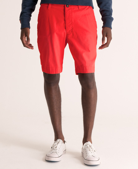 Superdry Commodity Chino Short Red