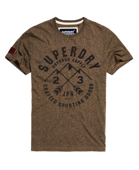 pebble jaspe Superdry Expedition T-shirt