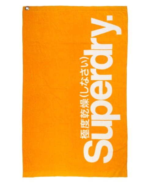 Superdry Urheilupyyhe Oranssi