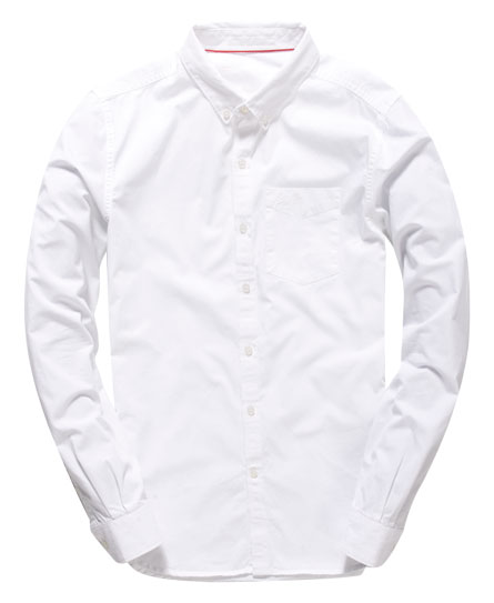 Clearance Find Great Premium Button Down Shirt Superdry Really Cheap Online yaCl6gF