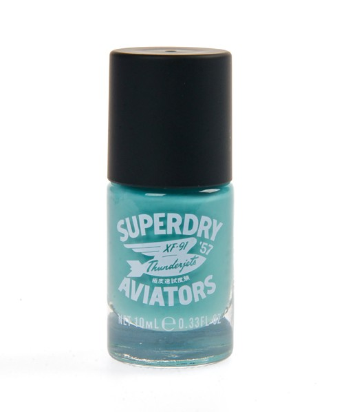 Superdry Nail Paint Blue