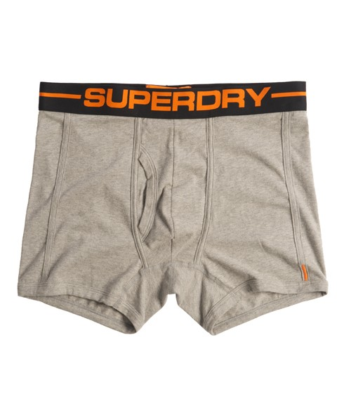 Superdry Sport Boxers Light Grey