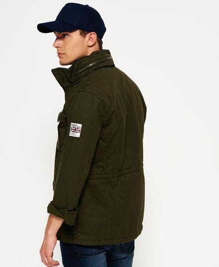 superdry veste style militaire paisse rookie vestes pour homme. Black Bedroom Furniture Sets. Home Design Ideas