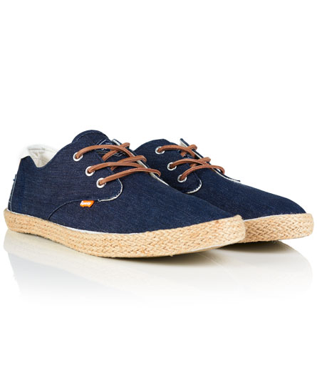 Chaussures Superdry Skipper Raw Denim h7Axs