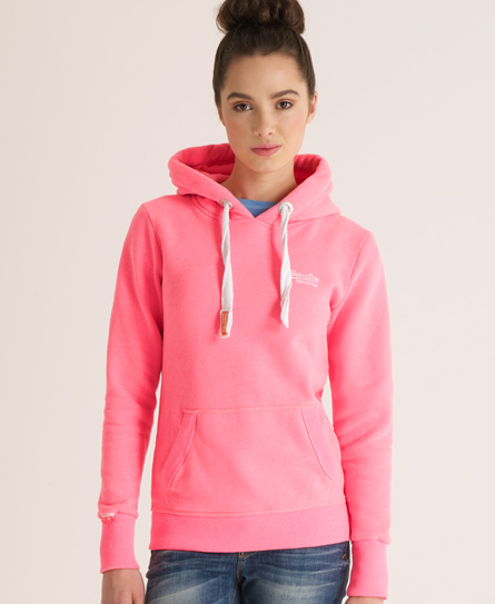 superdry orange label kapuzenpulli damen hoodies. Black Bedroom Furniture Sets. Home Design Ideas