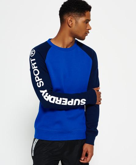 Gym Tech Raglan Crew Neck Sweatshirt