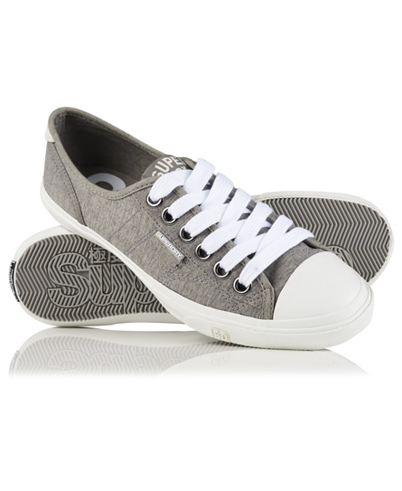 grey marl Superdry Low Pro Sneakers