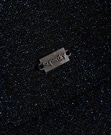 Superdry Metallic Sparkle Knit Jumper