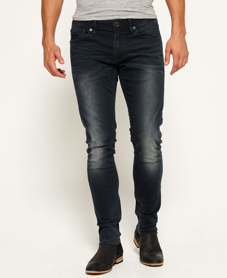 dusted black blue Superdry Jeans Skinny