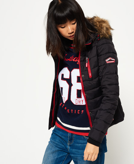 Superdry womens jacket with hood