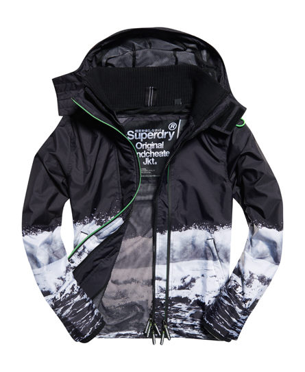 Black Edition Windcheater Jacket