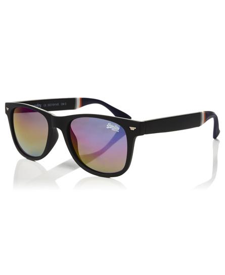 gummiertes schwarz Superdry Superfarer Sonnenbrille