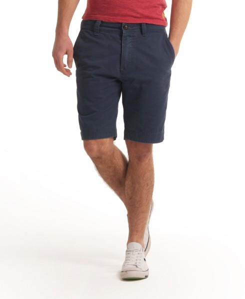 Mens Commodity Chino Shorts In Airforce Superdry