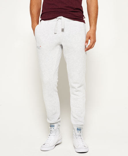 weiss meliert Superdry Orange Label Moody Jogginghose