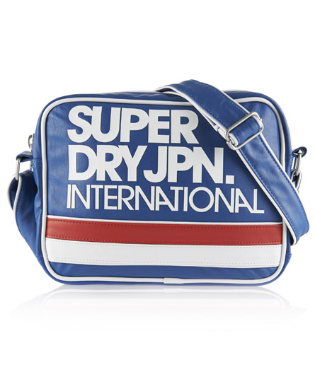 Superdry Mini International Bag Blue