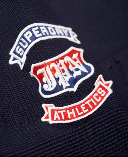 Superdry Embossed Logo Crew Jumper