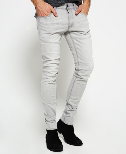 gray mist Superdry Skinny Jeans