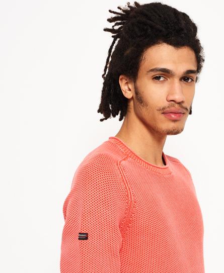Superdry Garment Dye L.A Textured Crew Jumper