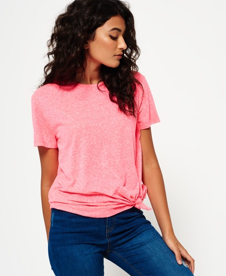 Superdry Superdry Burnout T-shirt med knude