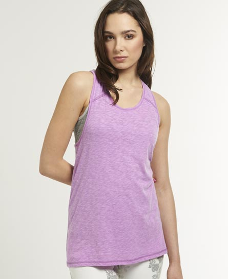 Superdry Slouch Tank Top Purple