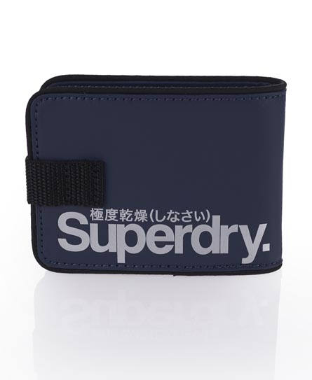 Superdry Small Tarp Wallet Navy