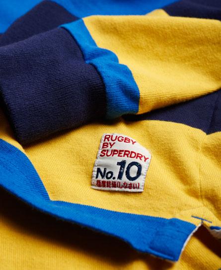 Superdry Leeds Rhinos Hoop Stripe rugbyshirt