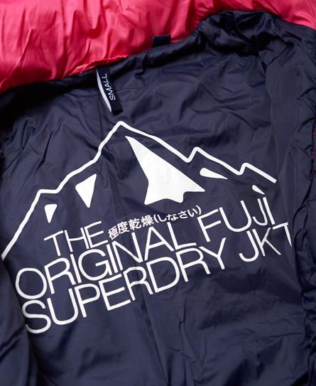 Superdry Veste à matelassage et capuche quadrillé Fuji