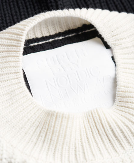 Superdry Colour Block Rib Knit Jumper