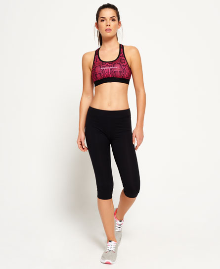 Core Gym Capri-Leggings
