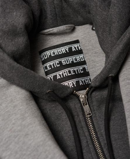 Superdry Americana larga de neopreno con capucha