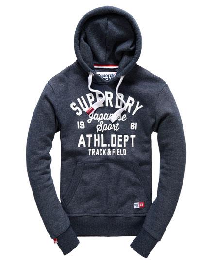 superdry trackster japan sport hoodie herren hoodies. Black Bedroom Furniture Sets. Home Design Ideas