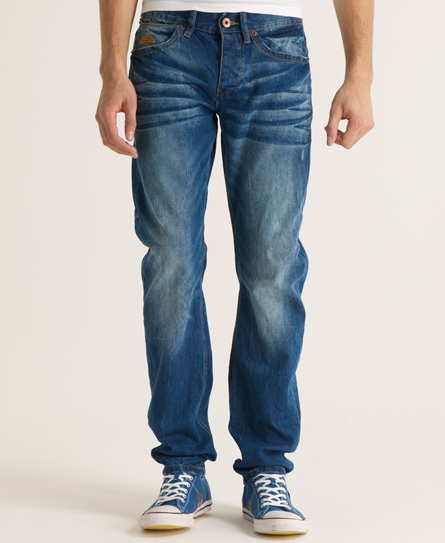Superdry Copper Fill Loose Jeans Blue