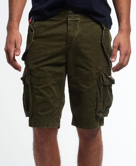 Superdry New Core Cargo Heavy Shorts Green