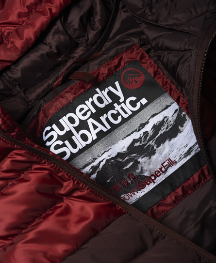 Superdry Chevron Colour Block Down Jacket