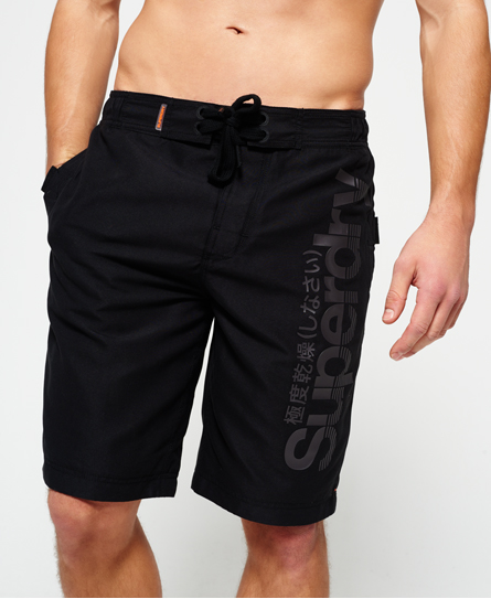black Superdry Superdry Boardshorts