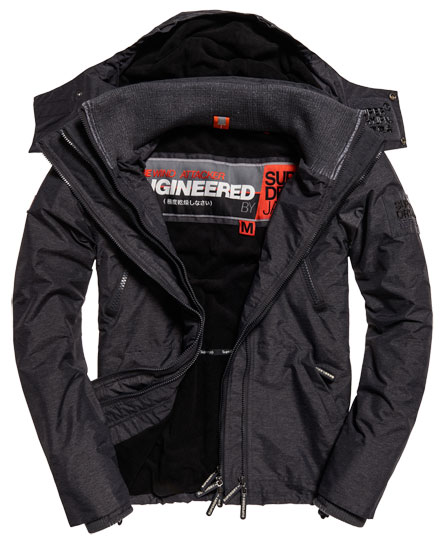 Hooded Arctic Wind Attacker Jacket